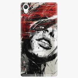 Plastový kryt iSaprio - Sketch Face - Sony Xperia Z2 Pouzdra, obaly a kryty na mobilní telefon Sony Xperia Z2
