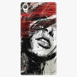 Plastový kryt iSaprio - Sketch Face - Sony Xperia Z3 Pouzdra, obaly a kryty na mobilní telefon Sony Xperia Z3