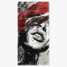 Plastový kryt iSaprio - Sketch Face - Sony Xperia Z5 Pouzdra, obaly a kryty na mobilní telefon Sony Xperia Z5