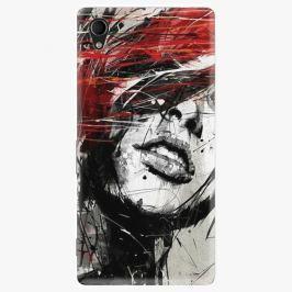 Plastový kryt iSaprio - Sketch Face - Sony Xperia M4