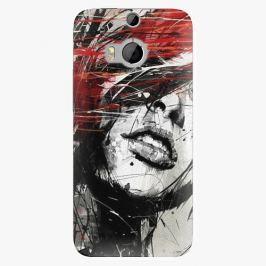 Plastový kryt iSaprio - Sketch Face - HTC One M8