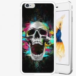 Plastový kryt iSaprio - Skull in Colors - iPhone 6/6S - Silver