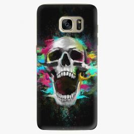 Plastový kryt iSaprio - Skull in Colors - Samsung Galaxy S7 Edge
