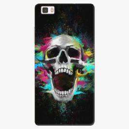 Plastový kryt iSaprio - Skull in Colors - Huawei Ascend P8 Lite