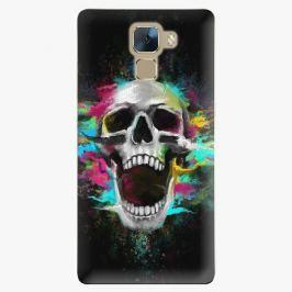 Plastový kryt iSaprio - Skull in Colors - Huawei Honor 7