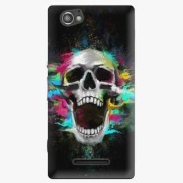 Plastový kryt iSaprio - Skull in Colors - Sony Xperia M