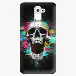 Plastový kryt iSaprio - Skull in Colors - LG G2 (D802B)