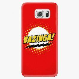 Plastový kryt iSaprio - Bazinga 01 - Samsung Galaxy S6 Edge Plus