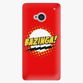 Plastový kryt iSaprio - Bazinga 01 - HTC One M7
