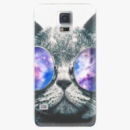 Plastový kryt iSaprio - Galaxy Cat - Samsung Galaxy S5