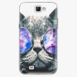Plastový kryt iSaprio - Galaxy Cat - Samsung Galaxy Note 2