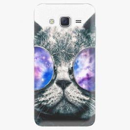 Plastový kryt iSaprio - Galaxy Cat - Samsung Galaxy J5