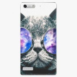 Plastový kryt iSaprio - Galaxy Cat - Huawei Ascend G6