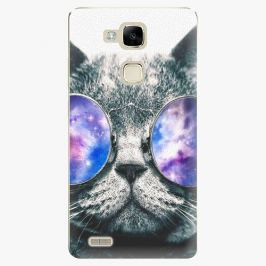Plastový kryt iSaprio - Galaxy Cat - Huawei Mate7