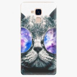 Plastový kryt iSaprio - Galaxy Cat - Huawei Honor 7 Lite