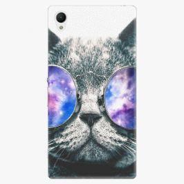 Plastový kryt iSaprio - Galaxy Cat - Sony Xperia Z1