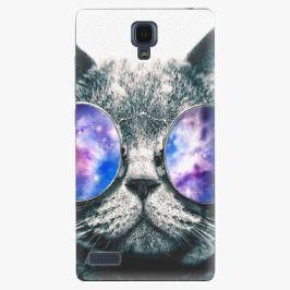 Plastový kryt iSaprio - Galaxy Cat - Xiaomi Redmi Note