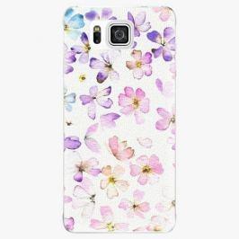 Plastový kryt iSaprio - Wildflowers - Samsung Galaxy Alpha
