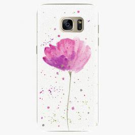 Plastový kryt iSaprio - Poppies - Samsung Galaxy S7 Edge