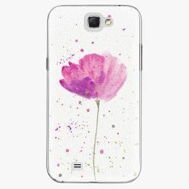 Plastový kryt iSaprio - Poppies - Samsung Galaxy Note 2