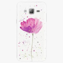 Plastový kryt iSaprio - Poppies - Samsung Galaxy J3 2016