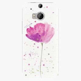 Plastový kryt iSaprio - Poppies - HTC One M8