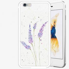 Plastový kryt iSaprio - Lavender - iPhone 6 Plus/6S Plus - Silver