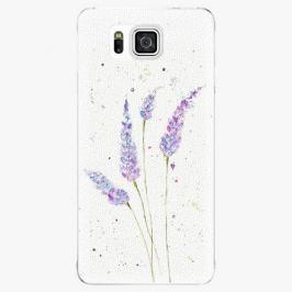 Plastový kryt iSaprio - Lavender - Samsung Galaxy Alpha