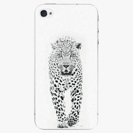Plastový kryt iSaprio - White Jaguar - iPhone 4/4S