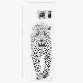 Plastový kryt iSaprio - White Jaguar - Samsung Galaxy S6