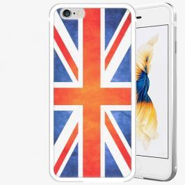 Plastový kryt iSaprio - UK Flag - iPhone 6 Plus/6S Plus - Silver
