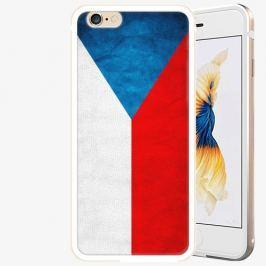 Plastový kryt iSaprio - Czech Flag - iPhone 6 Plus/6S Plus - Gold
