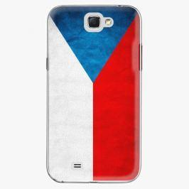 Plastový kryt iSaprio - Czech Flag - Samsung Galaxy Note 2