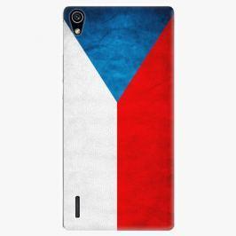 Plastový kryt iSaprio - Czech Flag - Huawei Ascend P7