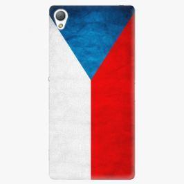 Plastový kryt iSaprio - Czech Flag - Sony Xperia Z3