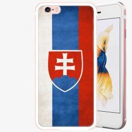 Plastový kryt iSaprio - Slovakia Flag - iPhone 6 Plus/6S Plus - Rose Gold