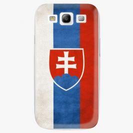 Plastový kryt iSaprio - Slovakia Flag - Samsung Galaxy S3