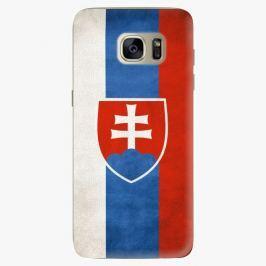 Plastový kryt iSaprio - Slovakia Flag - Samsung Galaxy S7 Edge