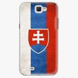 Plastový kryt iSaprio - Slovakia Flag - Samsung Galaxy Note 2