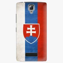 Plastový kryt iSaprio - Slovakia Flag - Lenovo A2010