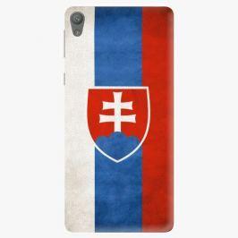 Plastový kryt iSaprio - Slovakia Flag - Sony Xperia E5