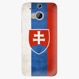 Plastový kryt iSaprio - Slovakia Flag - HTC One M8