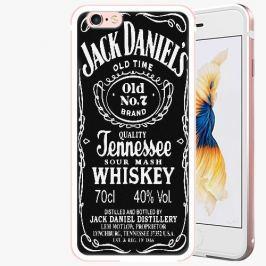 Plastový kryt iSaprio - Jack Daniels - iPhone 6 Plus/6S Plus - Rose Gold