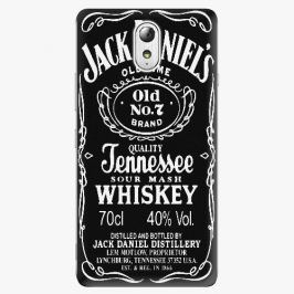 Plastový kryt iSaprio - Jack Daniels - Lenovo P1m