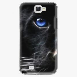 Plastový kryt iSaprio - Black Puma - Samsung Galaxy Note 2 Pouzdra, kryty a obaly na mobil Samsung Galaxy Note 2