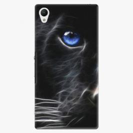 Plastový kryt iSaprio - Black Puma - Sony Xperia Z1 Compact