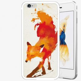Plastový kryt iSaprio - Fast Fox - iPhone 6 Plus/6S Plus - Silver