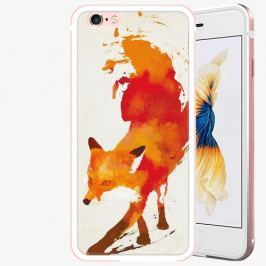 Plastový kryt iSaprio - Fast Fox - iPhone 6 Plus/6S Plus - Rose Gold