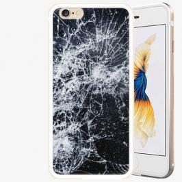 Plastový kryt iSaprio - Cracked - iPhone 6/6S - Gold
