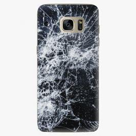 Plastový kryt iSaprio - Cracked - Samsung Galaxy S7 Edge